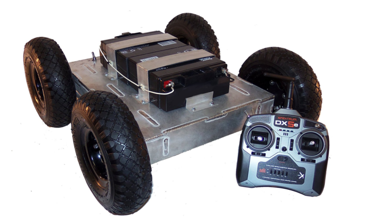 SuperDroid Robots IG52 DB 4WD ATR