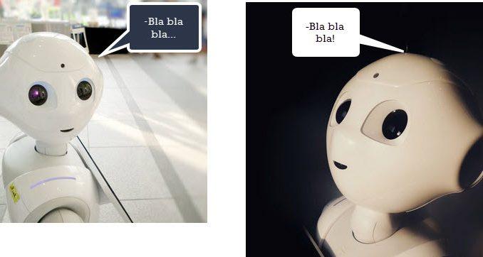Hablar con robots