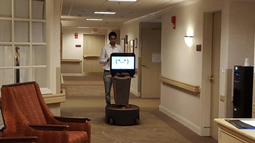 Sam, el robot conserje