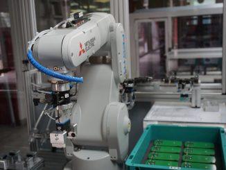 Robot en empleo humano